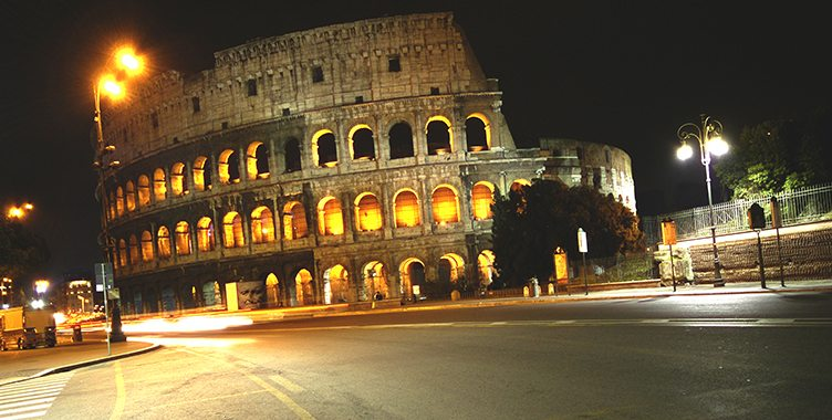 Colosseo luce